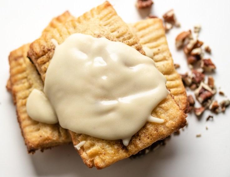 Cinnamon Pecan PopTart! {Gluten Free & Low Carb}