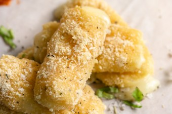Gooey Baked Mozzarella Cheese Sticks 🧀 {Low Carb & Gluten Free}
