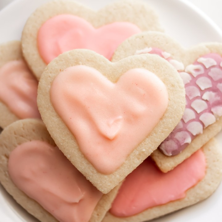 Keto Sugar Cookies with Icing