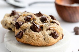 {Absolutely Loaded!} Keto Chocolate Chip Cookies!
