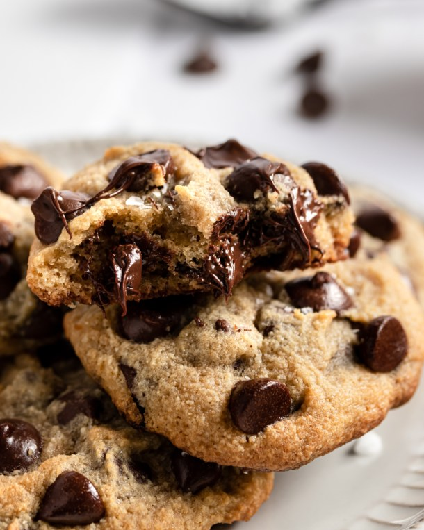 Absolutely Loaded Keto Chocolate Chip Cookies