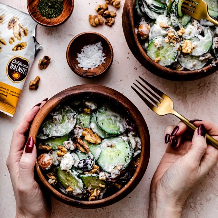 Crunchy Cucumber Dill Salad