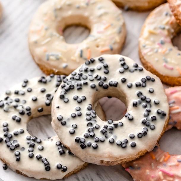 Keto Donut Sugar Cookies