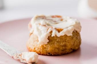 Cinnamon Roll for Two! Keto & Gluten Free!