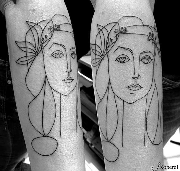 minimalist-picasso-tattoos-12__605-1