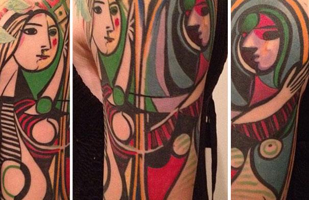 tatuagem obra de arte