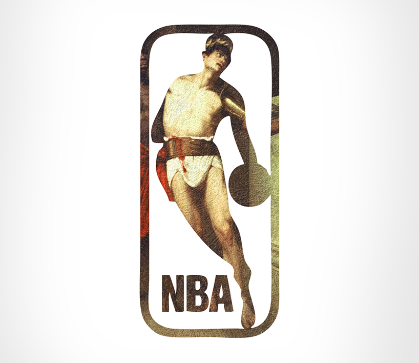 National Basketball Association + Gradiadores, por Leon-Maxime Faivre