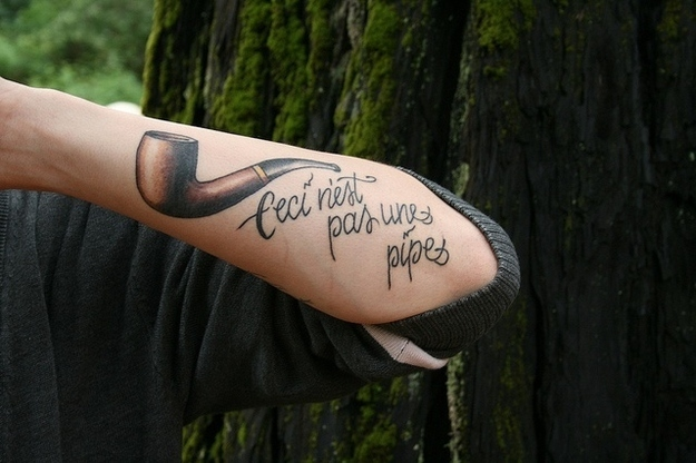 magritte-tattoo-pipe