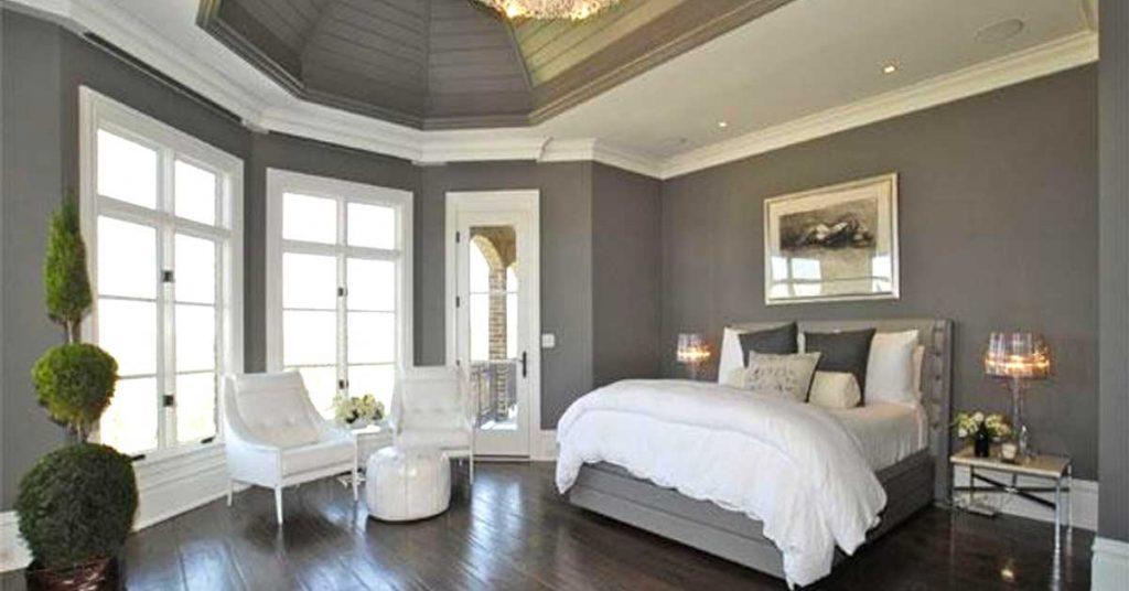 chambre grise et blanche voici 15