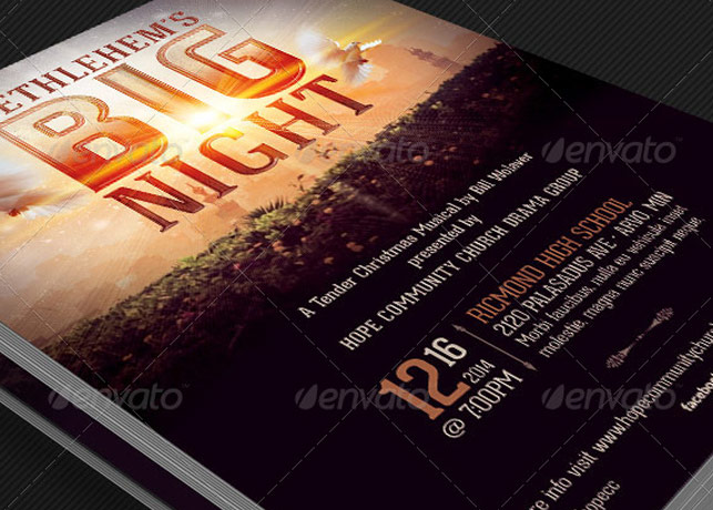 play flyer template