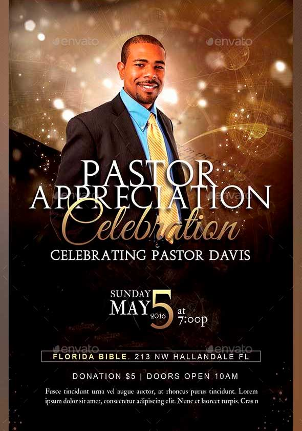 Anniversary Flyer | Pastor Anniversary Flyer Kope Impulsar Co