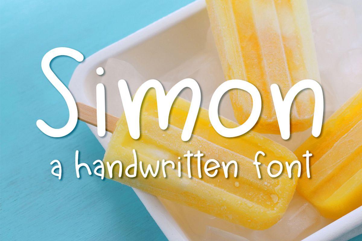 Simon Font Amazing Fonts
