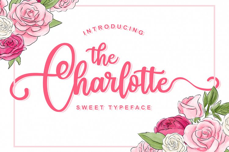15 brilliant new script fonts fancy romantic fonts inspiks market charlotte is a fun and sweet typeface with curly extra swashes m4hsunfo