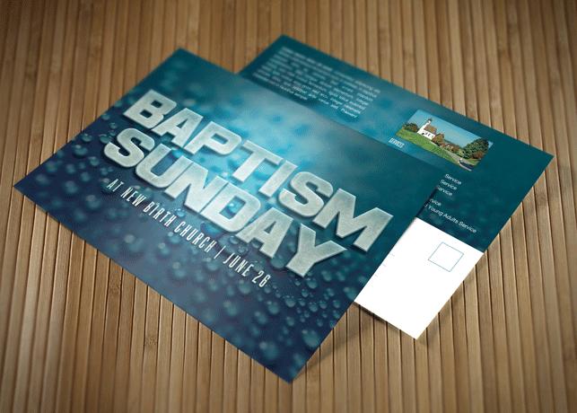 Baptism Invitations Ready Print