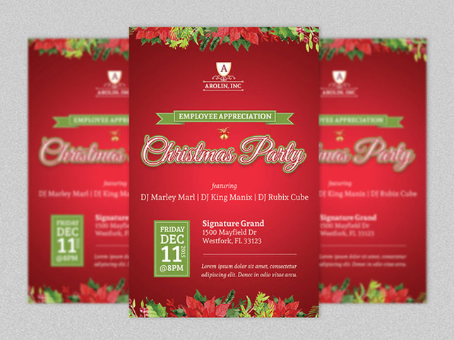 Christmas History Flyer Word Publisher Template Inspiks Market