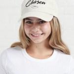 White Chosen Baseball cap