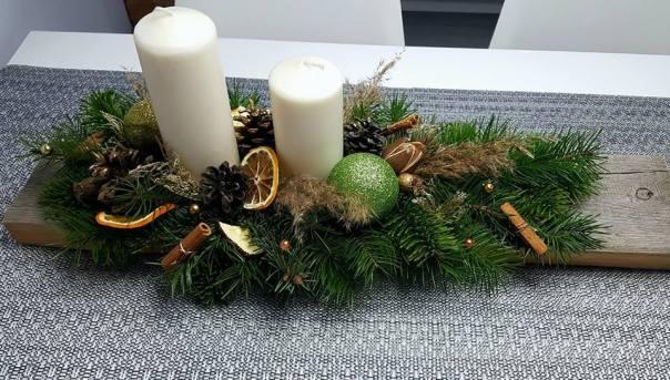 Dekoracje świąteczne - stroik