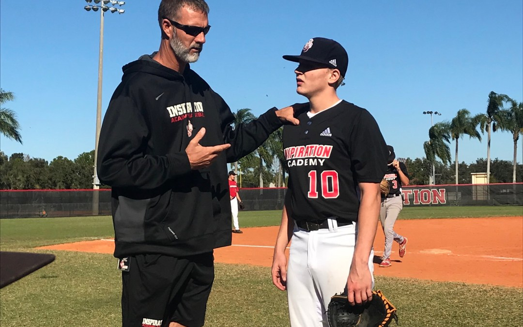 Despite pro ball lure, Inspiration Academy is Troy Mattes' home