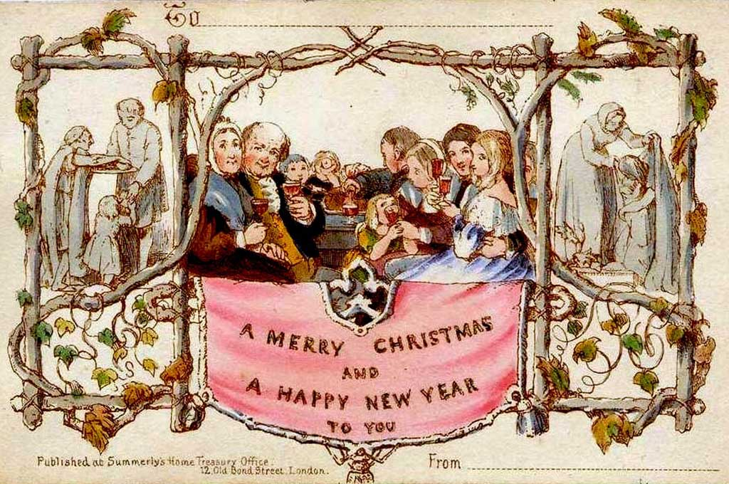 Free Printable Christmas Cards From Antique Victorian To