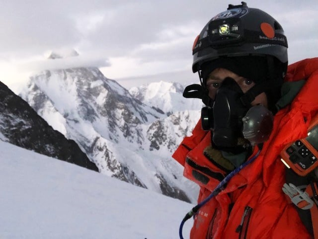 Jake on BP summit attempt with K2 behind