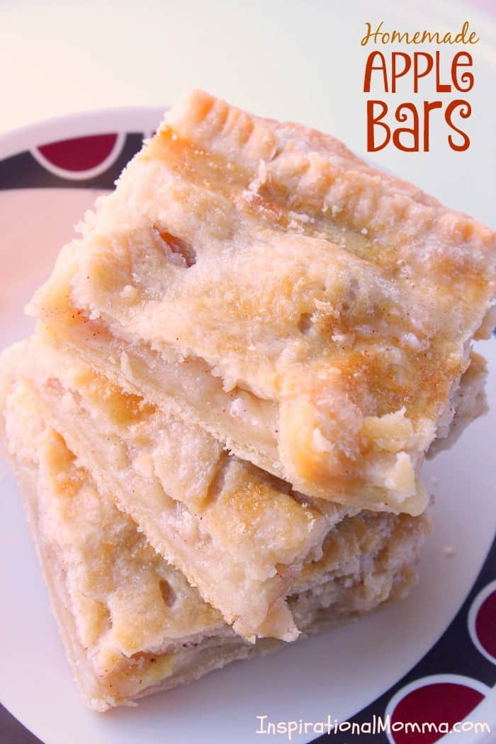 Homemade Apple Bars