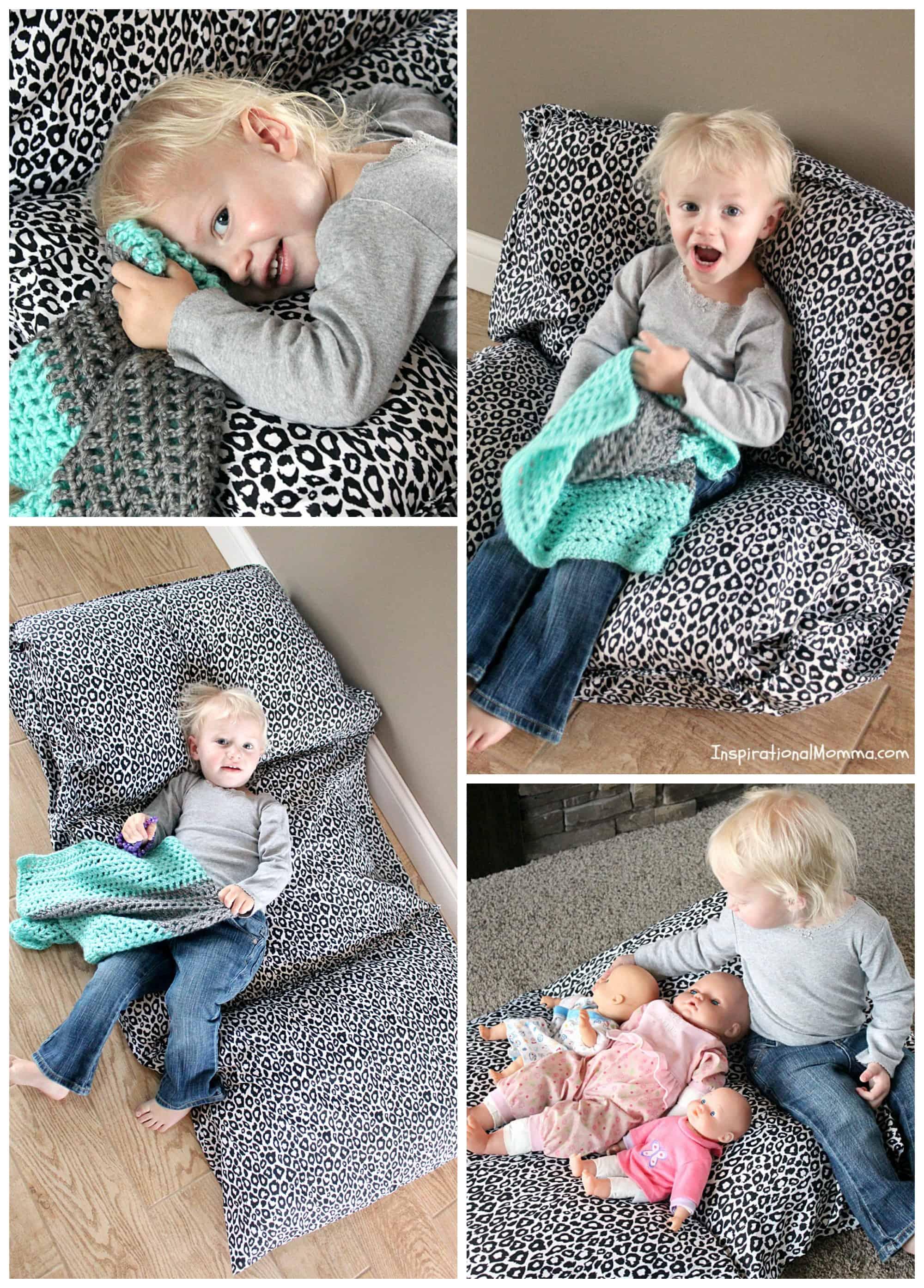 pillowcase bed chair