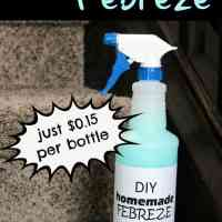 DIY Homemade Febreze