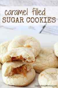 Caramel Filled Sugar Cookies