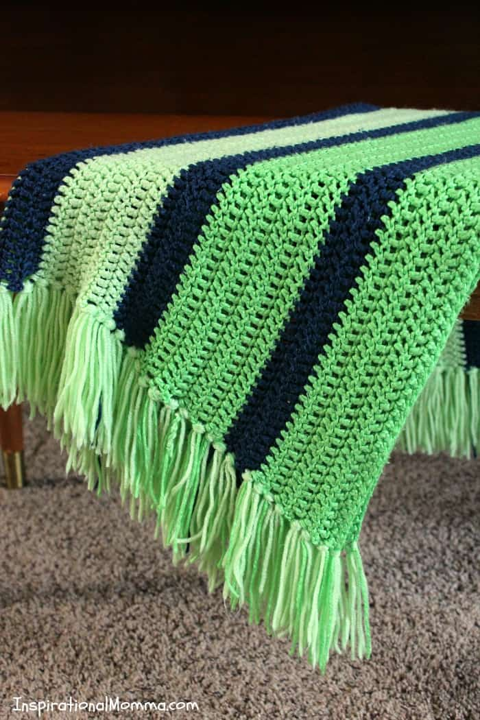 OnTheGo Crochet Baby Blanket Cool Easy Blanket Crochet Patterns