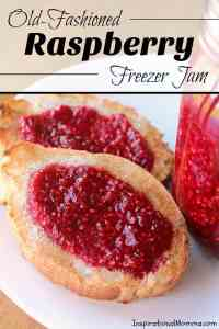 Old-Fashioned Raspberry Freezer Jam