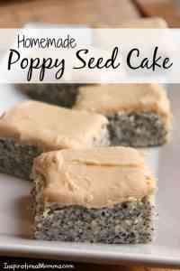 Homemade Poppy Seed Cake
