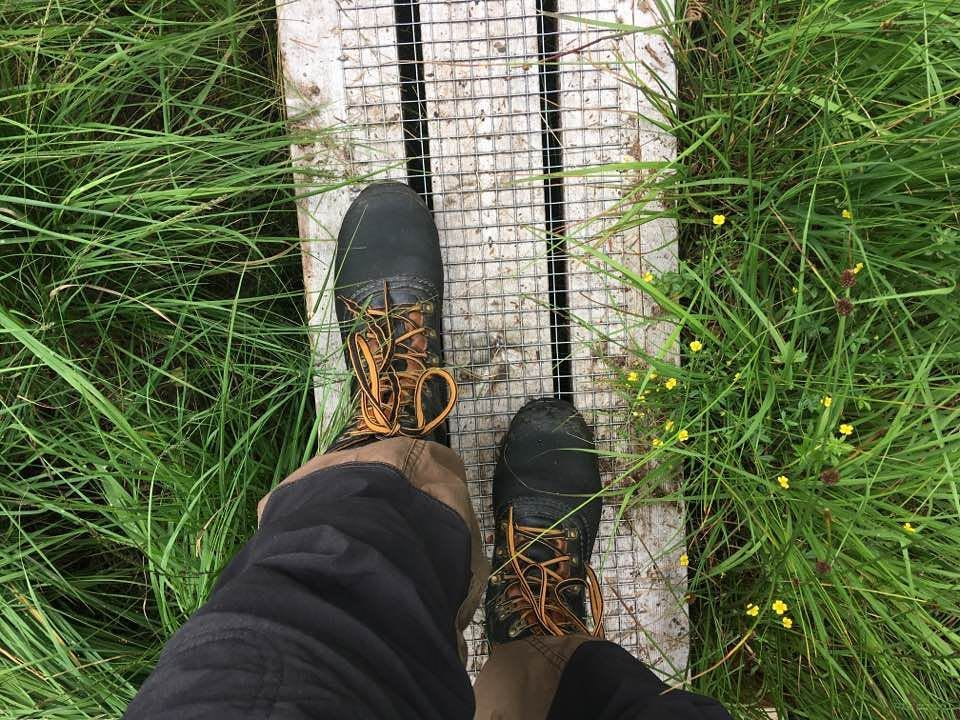 Walking in nature with my Lundhags boots