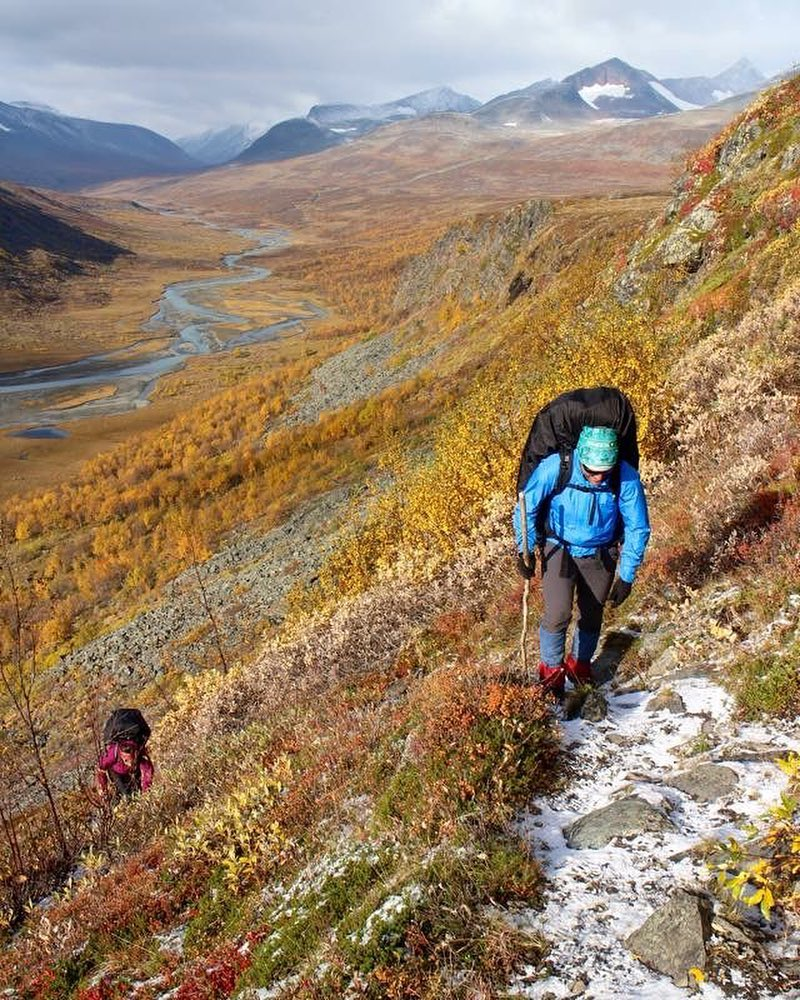 Autumn in Sarek national park