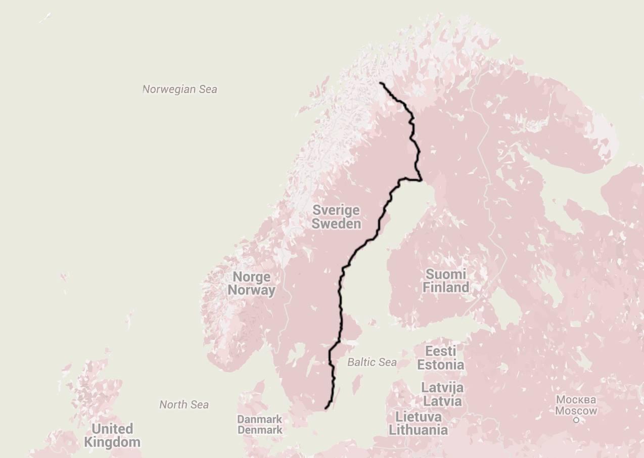My walk through Sweden