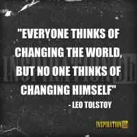 Leo Tolstoy Quote Poster