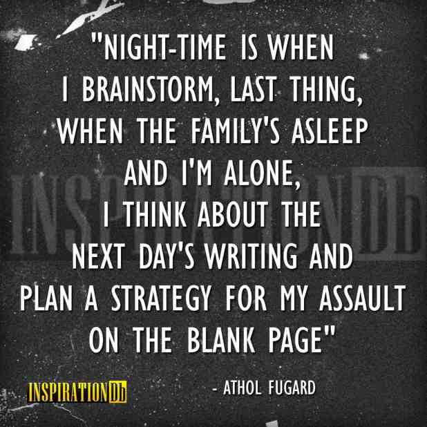 Athol Fugard Quote Poster