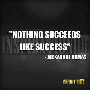 Alexandre Dumas Quote Poster