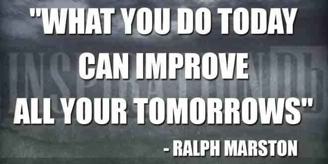 Ralph Marston Quote Poster