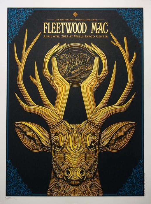 inspirationde todd slater s fleetwood mac poster