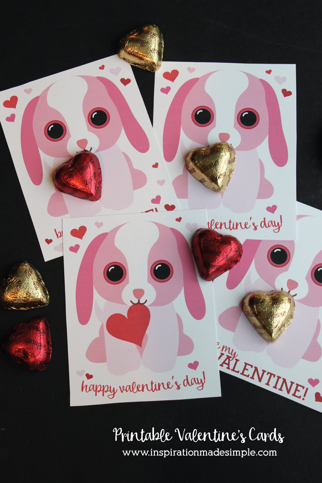Printable Puppy Valentine S Day Cards