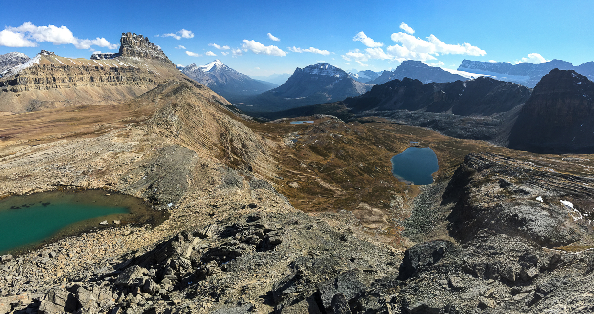 Helen Lake to Cirque Peak. The views are worth all the effort!
