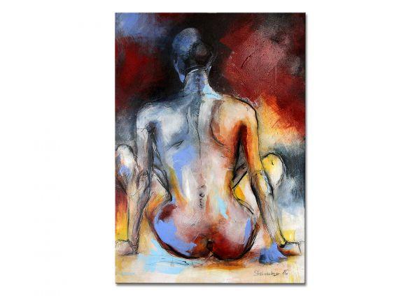Abstrakte Aktmalerei Conny Niehoff Malerei