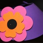 Flower on Visor