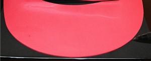 Cut Black Foam Sheet for Visor