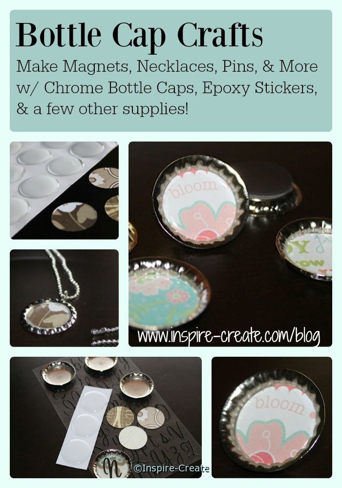 Bottle Cap Craft Idea