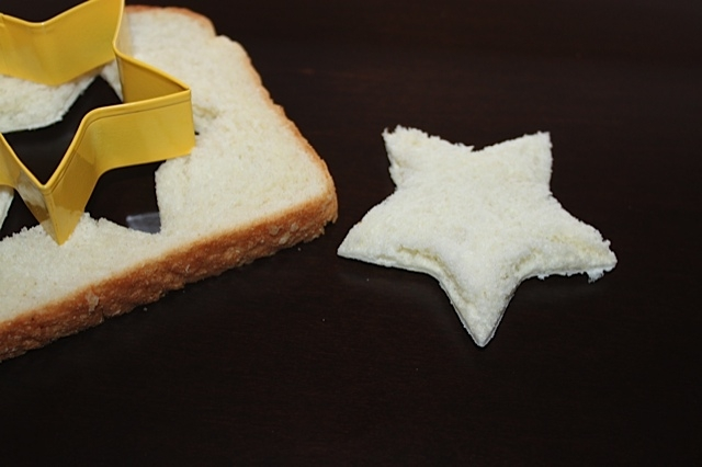 Star Ornament made from White Bread