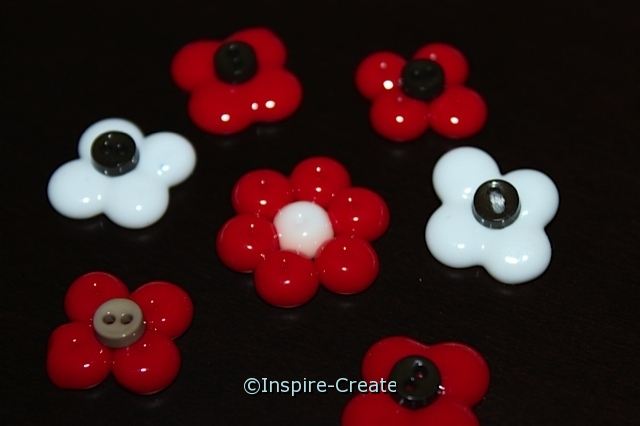 Melted Pony Bead Flowers