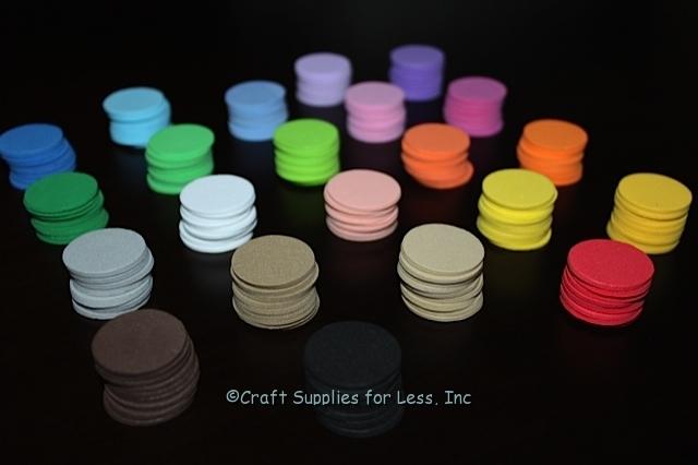 Custom Foam Shapes All Colors