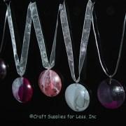 nail polish gems with sheer ribbon