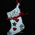 Shrink Art Stocking Ornament